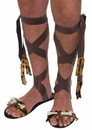 Forum Novelties Stone Age Men's Costume Sandals One Size