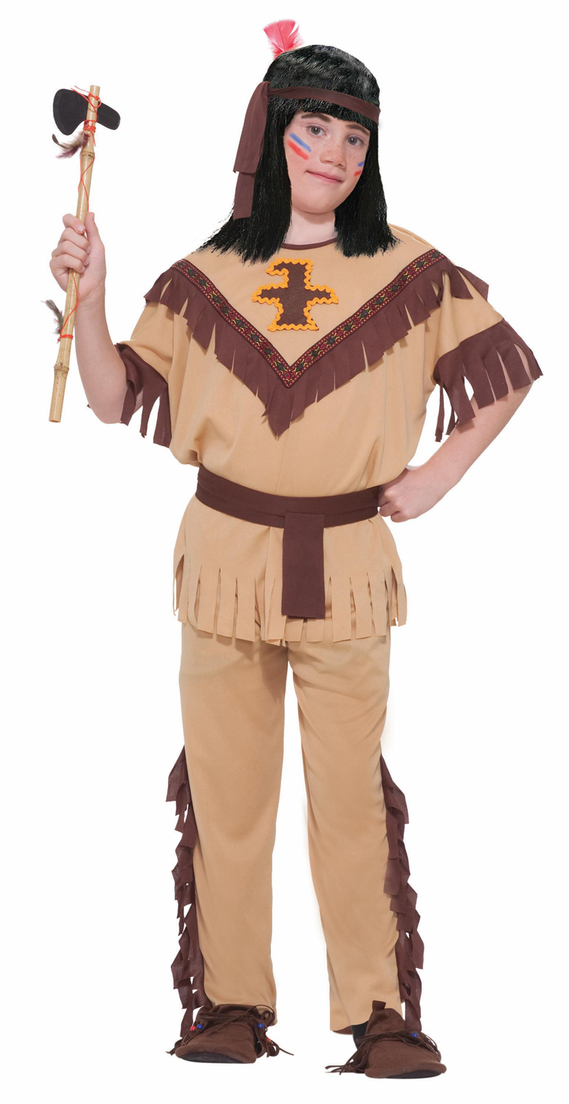 Forum Novelties FRM-64590L Native American Indian Brave Costume Child