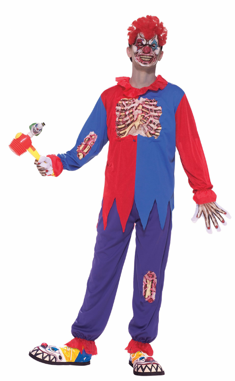 Scary Horror Clown Costume Child