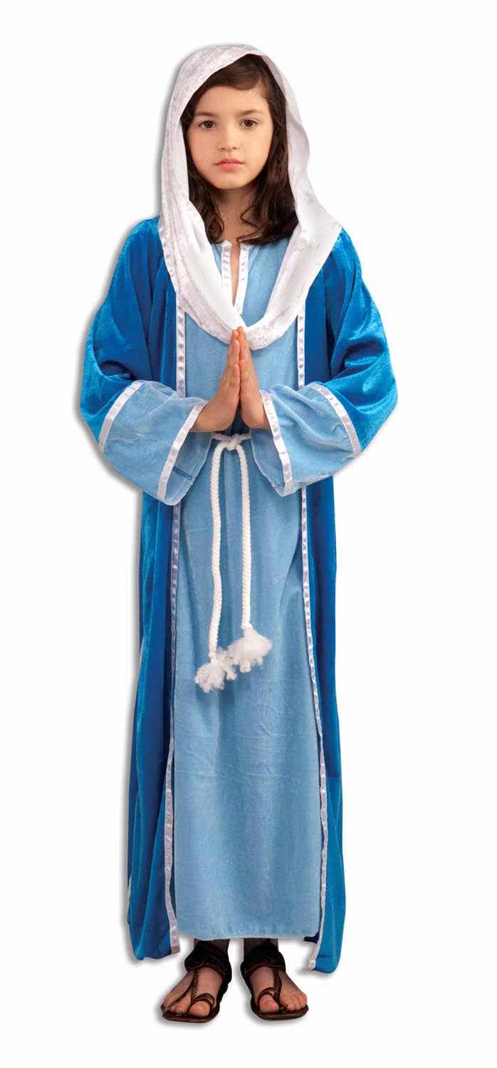 Forum Novelties FRM-65836M Deluxe Biblical Mary Costume Child