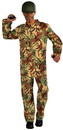 Forum Novelties Army Camouflage Jumpsuit Adult One Size Fits Most