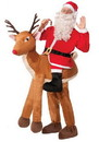 Santa Ride-A-Reindeer Costume Adult Men