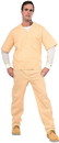 Forum Novelties Orange is Black - Beige Prisoner Suit Costume Adult Standard _x000D_<br>