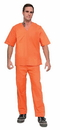 Orange Prisoner Costume Adult Men