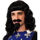 Forum Novelties FRM-75127-C Musketeer Wig, Moustache, Goatee Costume Accessory Adult Men