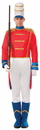 Forum Novelties Men's Deluxe Toy Soldier Costume One Size