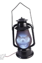 Forum Novelties FRM-76842-C Light Up Skull Face Lantern Halloween Décor