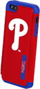 Forever Collectibles Philadelphia Phillies MLB Dual Hybrid 2-Piece Apple iPhone 5 Cover