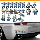 Fanwraps Fallout 4 Family Auto Decals Set