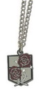 Great Eastern Entertainment GEE-35639-C Attack On Titan Garrison Stationary Guard Emblem Metal Necklace