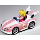 Global Holdings GLH-19403-C Super Mario Brothers Nintendo Wii Pull And Speed Kart Peach