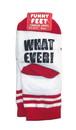 Funny Feet Toddler Socks: Whatever!