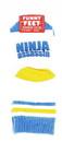 Funny Feet Toddler Socks: Ninja Assassin