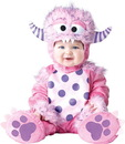Incharacter Lil' Pink Monster Baby Toddler Costume
