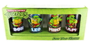 Just Funky Teenage Mutant Ninja Turtles Names Pint Glass Set Of 4