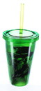 Just Funky JFL-DANGERGRN-C Breaking Bad Danger Green 16oz Carnival Cup w/ Straw