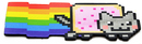 Just Funky Nyan Cat Magnet