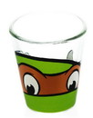 Just Funky Teenage Mutant Ninja Turtles Michelangelo Clear Shot Glass
