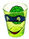 Just Funky Teenage Mutant Ninja Turtles Leonardo Glitter Shot Glass