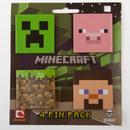 JINX Inc. Minecraft 4 Pin Pack