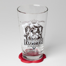 Mighty Fine DOTA Queen of Pain Pint Glass and Coaster