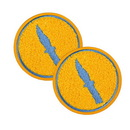 Mighty Fine MFI-ATRS055MMFEB-C Team Fortress 2 Spy Patches: Set of 2, Team Blu