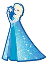 "Monogram International  MNG-22218-C Disney's Frozen Soft Touch PVC Magnet: ""Elsa"""