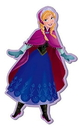 "Monogram International  MNG-22219-C Disney's Frozen Soft Touch PVC Magnet: ""Anna"""
