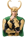 Monogram International Inc. Marvel Vinyl Bust Bank: Loki
