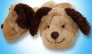 My Pillow Pets MPP-C12729BE-C My Pillow Pets Dog Slippers Small
