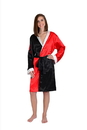 DC Comics Harley Quinn Women's Satin Robe