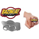 Ripple Junction RPJ-BTWR2413-C Big Bang Theory Bazinga Flash Knuckle Ring