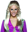Brady Bunch Tv Show Long Blonde Adult Female Costume Wig - Jan