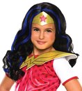 Rubies DC Super Hero Girls Wonder Woman Costume Wig Child One Size
