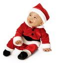 Rubies Velvet Santa Suit Baby Child Costume