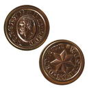 Shire Post Mint Game of Thrones Coin Replica: Robert Baratheon Copper Star