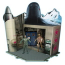 Underground Toys UGT-04659-C Doctor Who Cold War Time Zone Playset
