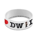Underground Toys UGT-DW01150-C Doctor Who Rubber Wristband I Heart The Doctor