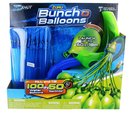 Zuru ZRU-1241_BLU-C Bunch O Balloons With Launcher: Blue 3-Pack, 100 Balloons Total