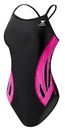 TYR DPXB7Y Girl's TYR Pink Phoenix Splice Diamondfit Swimsuit