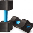 TYR LAQDMB Aquatic Resistance Dumbbells - 011 Black/Blue