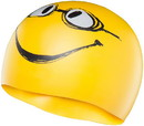 TYR LCSMILEY Have a Nice Day Silicone Swim Cap - 720 Yellow