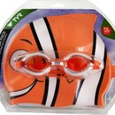 TYR LCSPLSH Splashpack Goggles & Swim Cap Combo - 810 Orange