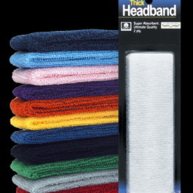 UNIQUE Thick Headbands 2-ply