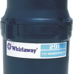 Anaheim 291-PC Whirlaway Garbage Disposal With Plug 1/2 Hp, Price/Each