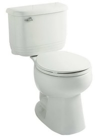 Sterling 404522-0 Riverton Toilet Tank White, Price/Each