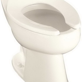 Kohler K-4368-0 Highcliff Elongated Toilet Bowl With 11 In. Rough And Top Spud, White, Price/Each