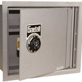 Gardall SL6000FGC Concealed Wall Safe, Heavy-Duty S & G Combination Lock, Price/Each