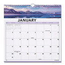AT-A-GLANCE AAG88200 Landscape Monthly Wall Calendar, 12 X 12, 2017