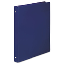 ACCO BRANDS ACC39702 Accohide Poly Round Ring Binder, 23-Pt. Cover, 1/2